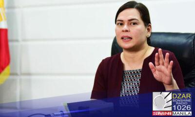 Mas malaki ang tsansa na hindi tatakbo sa pagkapangulo si Davao City Mayor Sara Duterte.