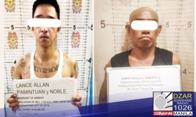 Bunga ng pinaiiral na intensified campaign laban sa mga kriminalidad at iba pang iligal na aktibidad, napasakamay ng Pasay Police ang 2 most wanted person sa lungsod