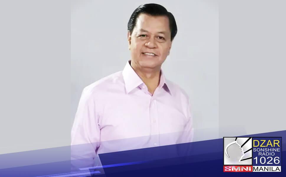Binawi na ni dating Vice President Noli De Castro ang kanyang kandidatura sa pagkasenador para sa 2022 election