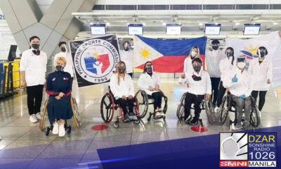7 gold, 4 na silver at 5 bronze medals ang nahakot ng Pilipinas sa para dancesports competition ng 2021 Polish open qualifying round na ginanap sa Lomianki, Poland
