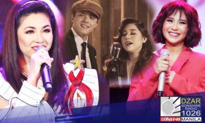 Big winners sa 12th edition ng PMPC Star Awards for Music ang mga singer na sina Regine Velasquez-Alcasid, Sarah Geronimo, Moira Dela Torre, at Daniel Padilla.